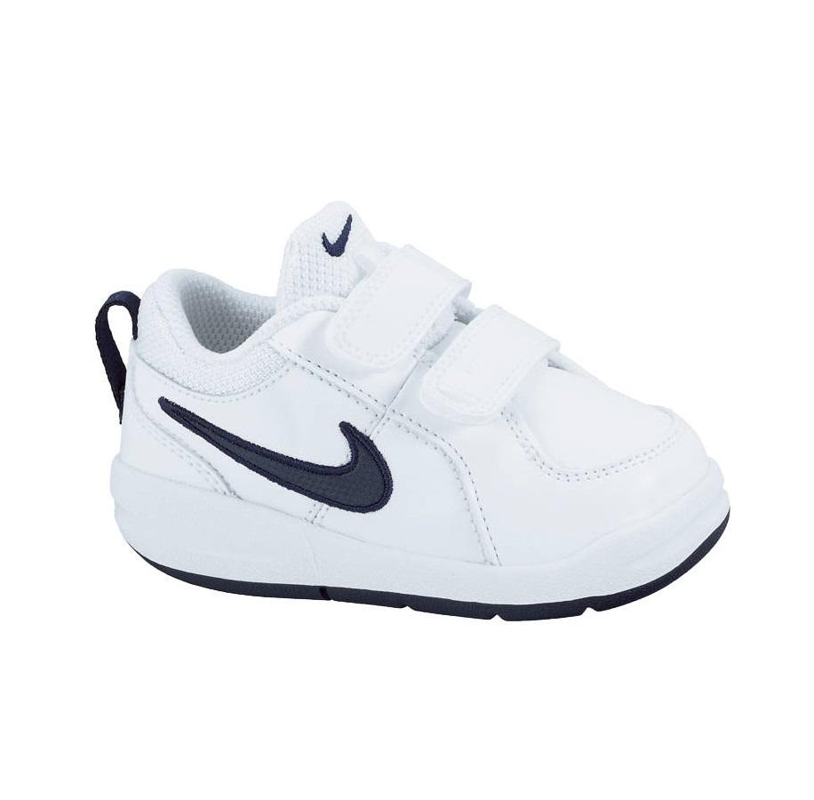 ccc091c0 Детские кроссовки Nike Pico 4 белые с синим купить в Минске, цена
